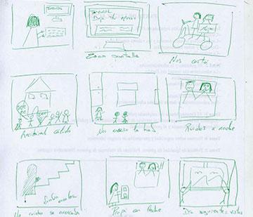 Story board para Toprural