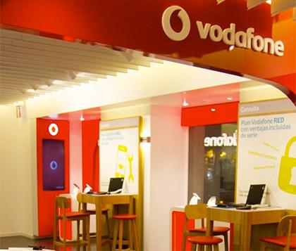 Trabajo para la tienda de Vodafone de Ione Ardaiz