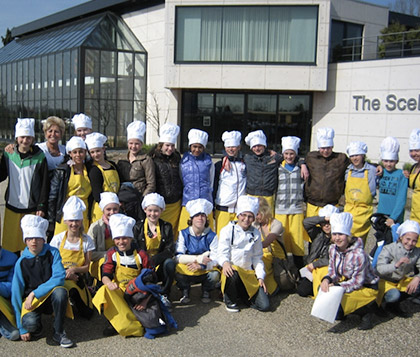 Trabajo para The Kids University for Cooking project de Ione Ardaiz