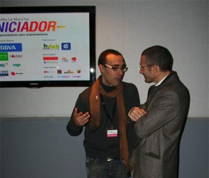 Cesar Garcia Gascón en el Iniciador