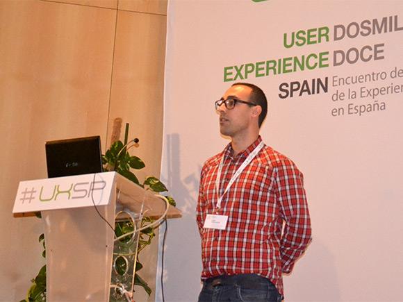 Cesar García Gascón forma parte de la organización del encuentro UXSpain