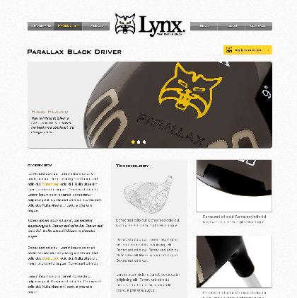 Pablo domínguez trabajó en el diseño de la web Lynx