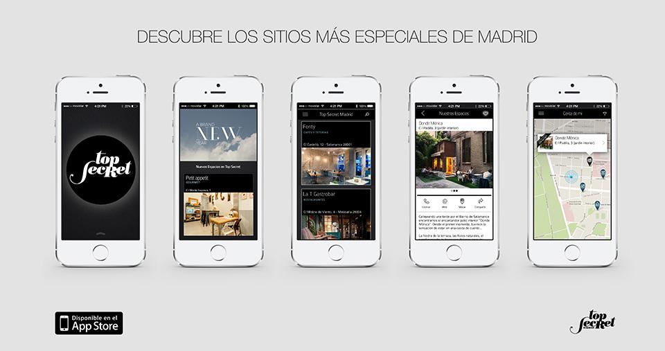 TopSecret Madrid App