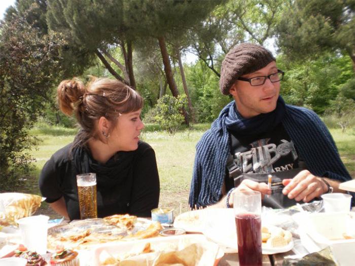 De picnic en la casa de campo con Bert Bräutigam