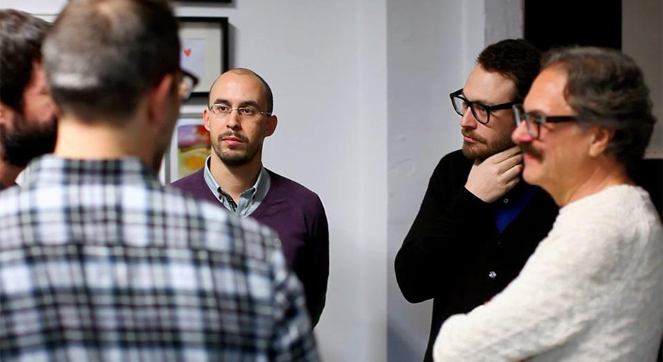 Con el equipo de Buscolook. La primera StartUp con la que colabore, desde la 'consultaría' en la definición hasta el final.
